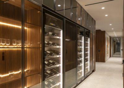 Beautiful Custom Wine Storage Cabinets